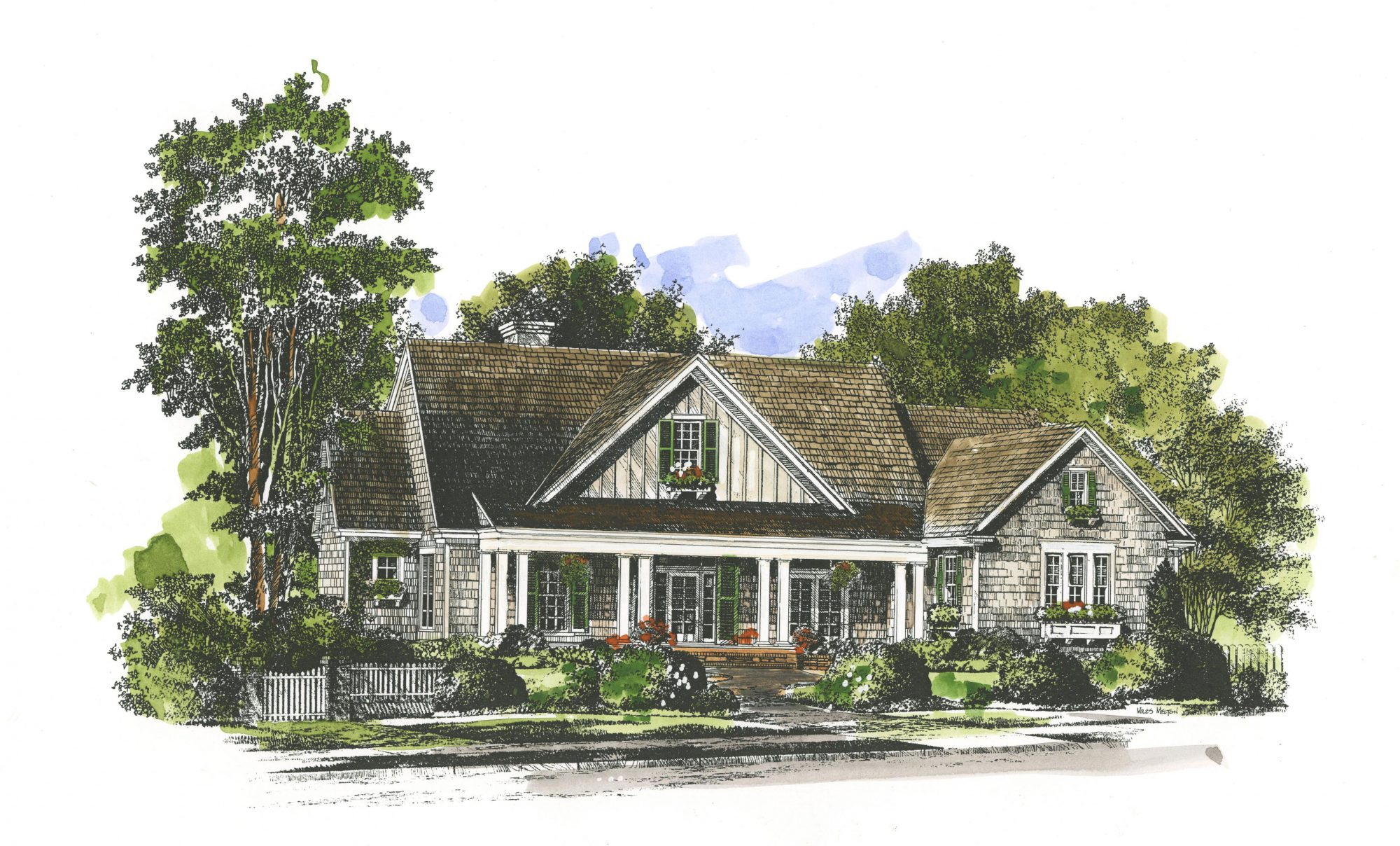 reasons we love the new oxford house plan - southern living