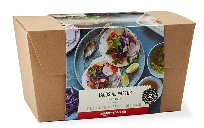 Amazons new meal kits are headed to your doorstep southern living amazon tacos al pastor meal kit solutioingenieria Gallery