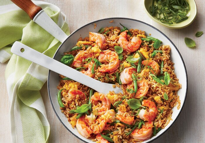 Shrimp fried rice recipe southern living shrimp fried rice forumfinder Choice Image