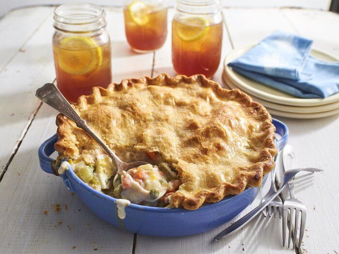 Old fashioned chicken pot pie recipe southern living old fashioned chicken pot pie recipe forumfinder Image collections