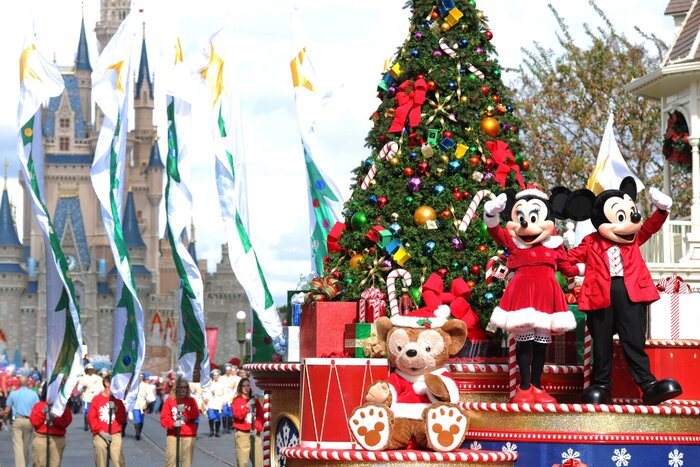 mickey s very merry christmas party is back at magic kingdom and we