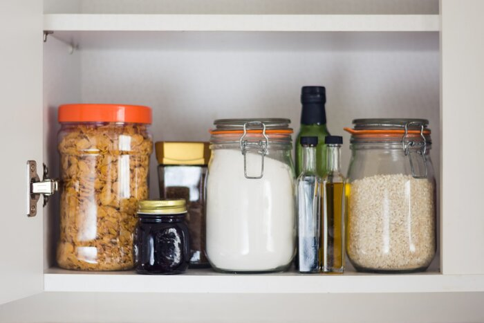 10 kitchen organizing ideas you can steal from ree drummond jars in pantry workwithnaturefo