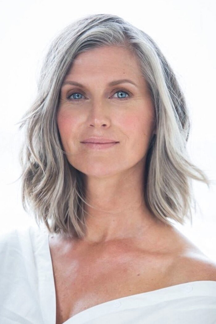 3 Secrets Of Women With Gray Hair Southern Living