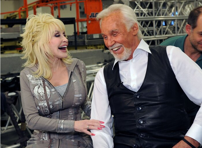 Kenny rogers and dolly parton address dating rumors southern living kenny rogers and dolly parton m4hsunfo