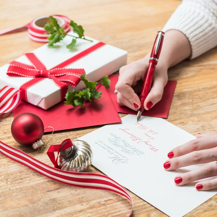 Rules to follow for addressing christmas cards southern living writing christmas cards m4hsunfo