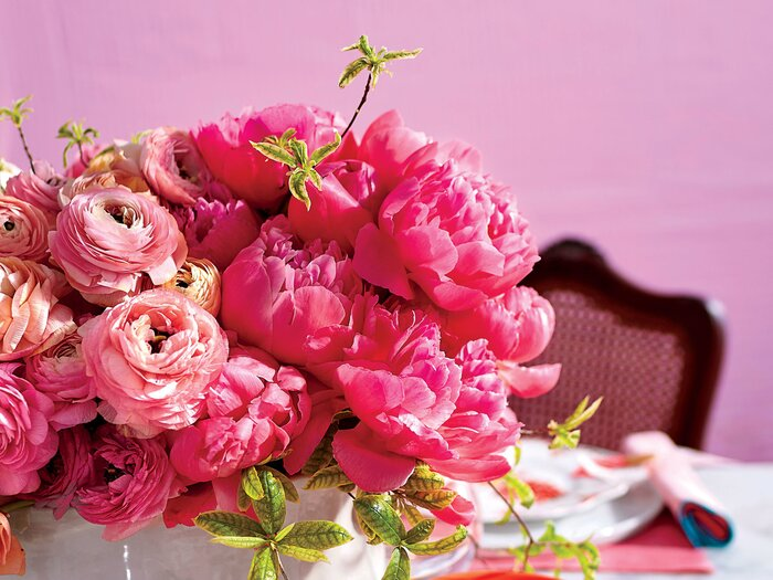 The Secret to The Best Peony Arrangement - Southern Living