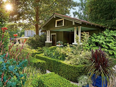 anthony brewington bungalow garden - Landscaping Pictures