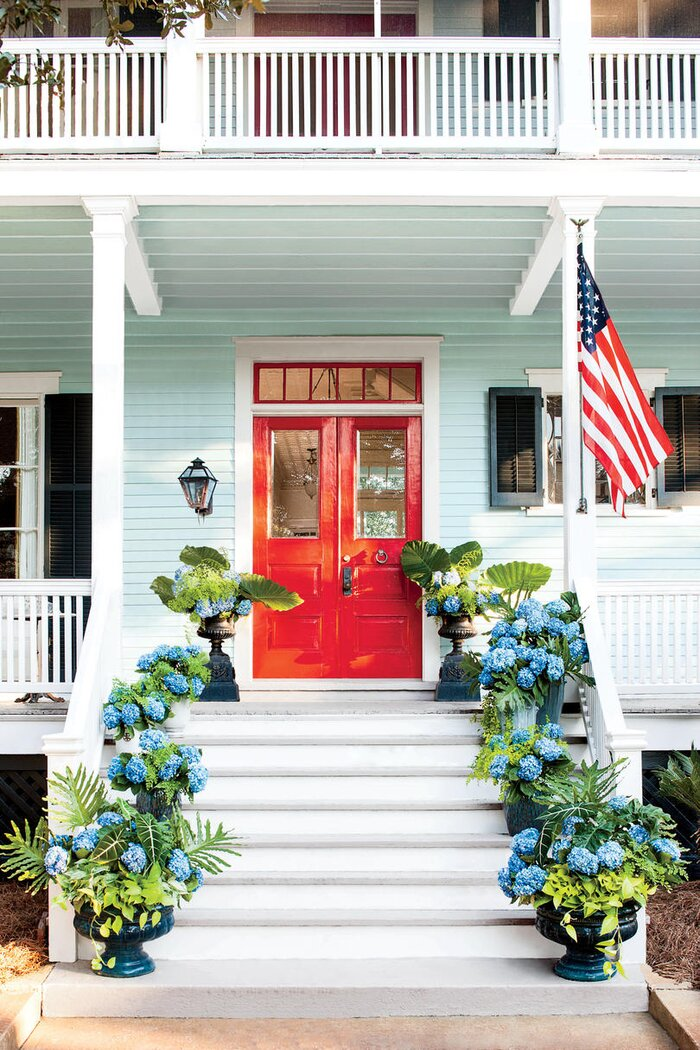 Spring Front Door Paint Ideas That Will Give Your Exterior An