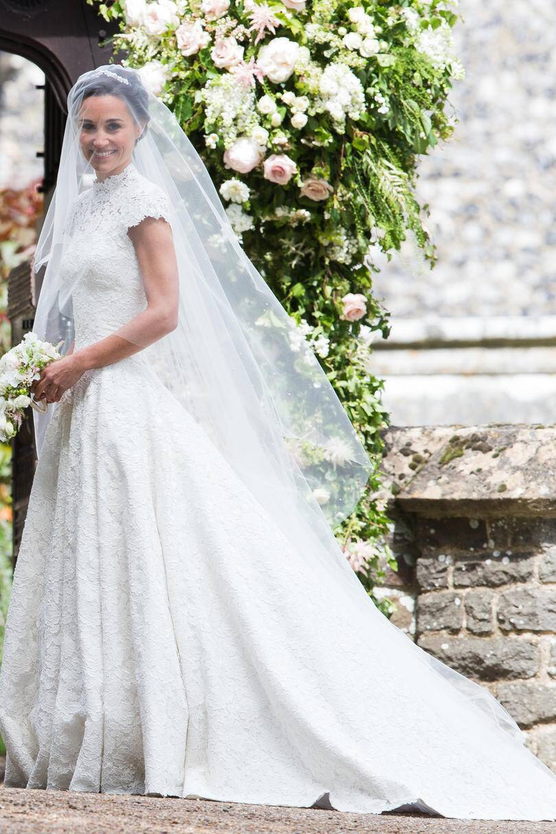 86a751af95e Rx 1706 Pippa Middleton Wedding Veil Gorgeous Wedding Veils Through The  Years Southern Living