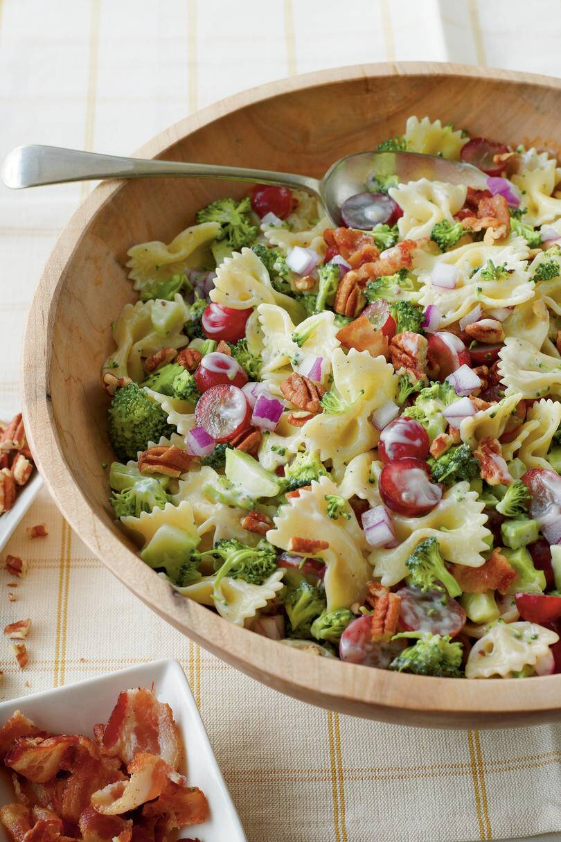 Rx 1803 Easter Side Dishes For Ham Broccoli Grape And Pasta Salad