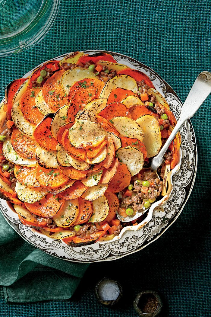 St patricks day recipes southern living shepherds pie with potato crust forumfinder Image collections