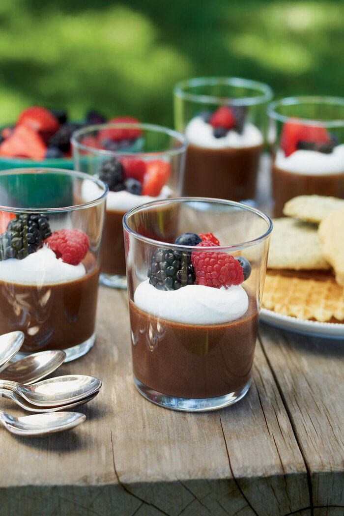 Party desserts recipes southern living easy mocha mousse forumfinder Image collections