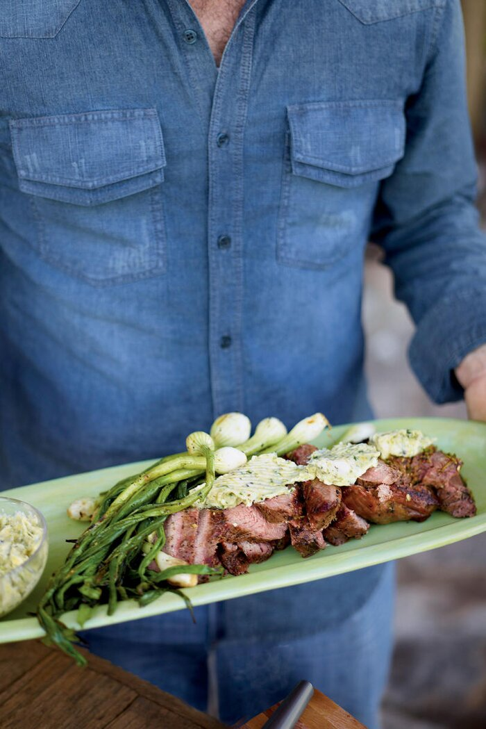 Main dish recipes southern living grilled tri tip with citrus chile butter forumfinder Gallery