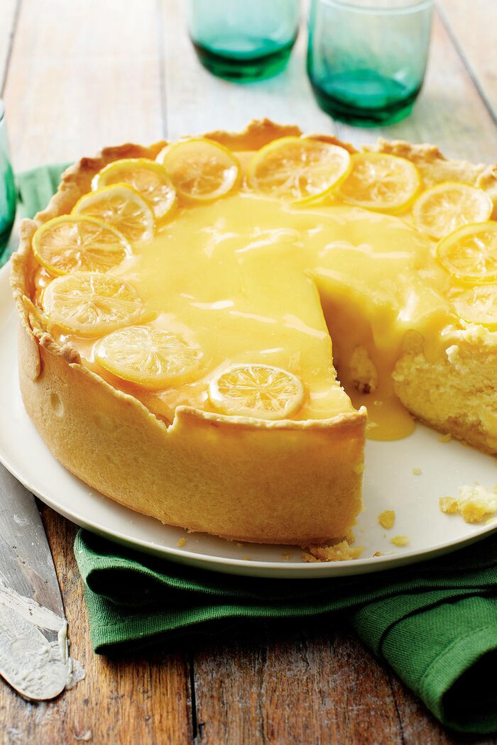 Sweet on citrus desserts southern living lemon bar cheesecake audiocablefo
