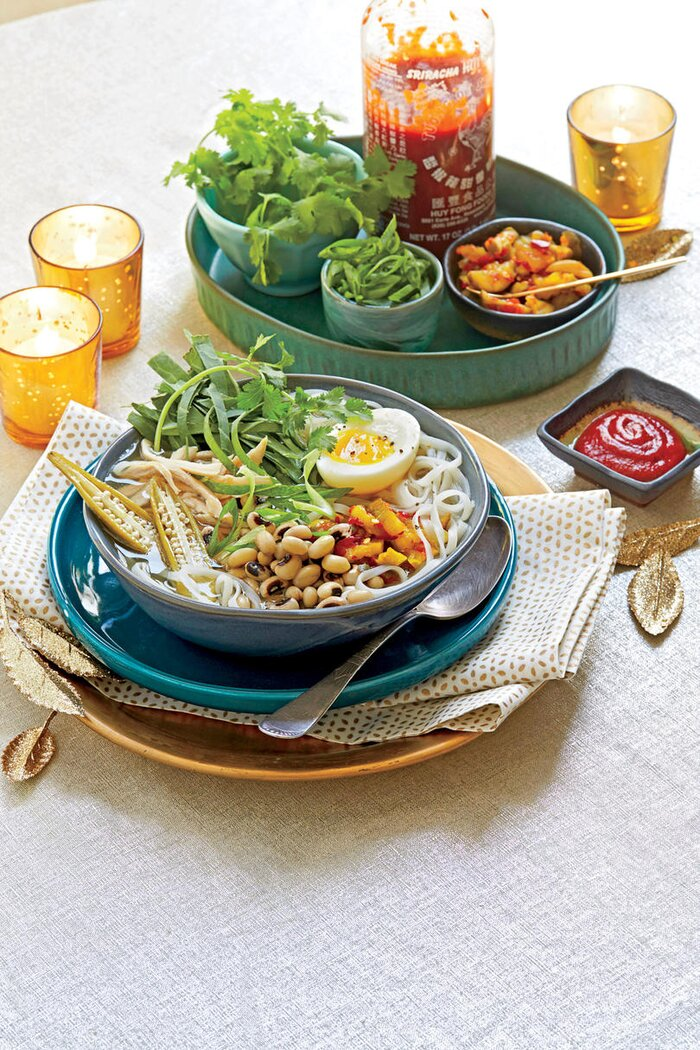 Southern new years traditions and recipes southern living hoppin john noodle bowls forumfinder Gallery