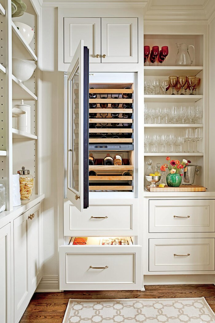 beverage cabinets - Kitchen Cabinet Ideas
