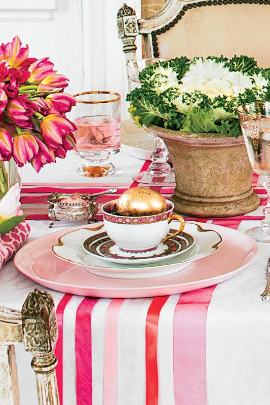 Elegant Easter Tablescape - Southern Living