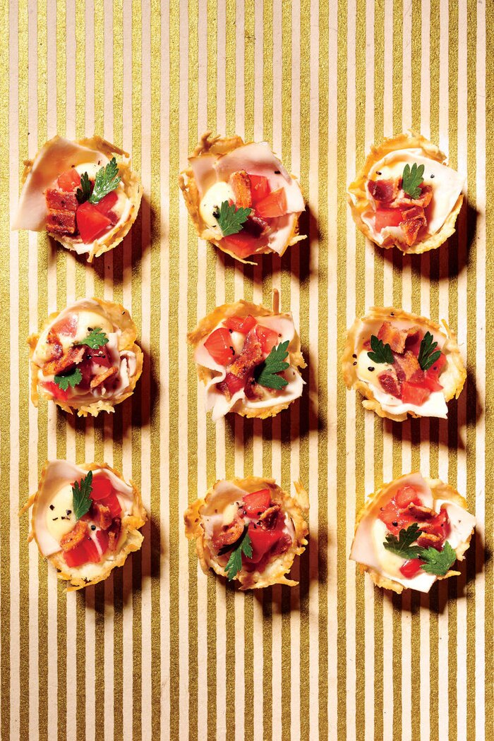 Holiday finger food appetizers southern living inside out hot brown bites forumfinder Gallery