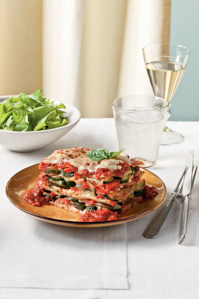 10 delicious cheap dinner recipes southern living fresh vegetable lasagna forumfinder Image collections