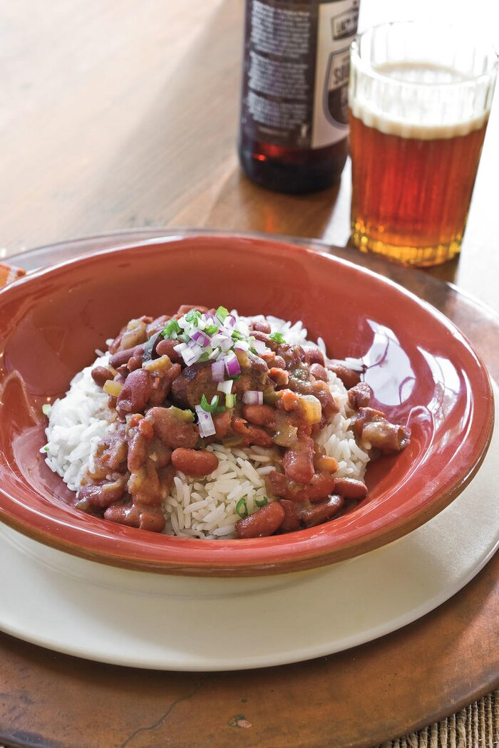 Quick and easy dinner recipes southern classics made simple slow cooker recipes slow cooker red beans and rice forumfinder Image collections