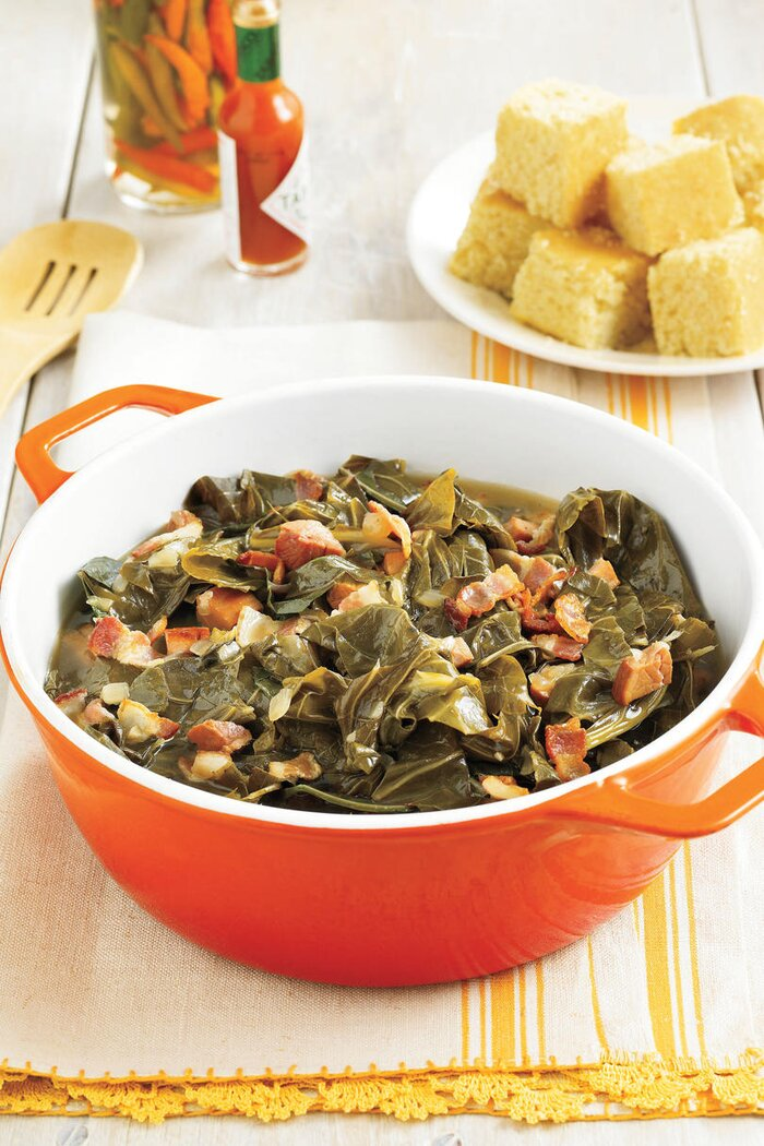 Easy southern recipes side dishes southern living southern living recipe southern style collard greens forumfinder Gallery