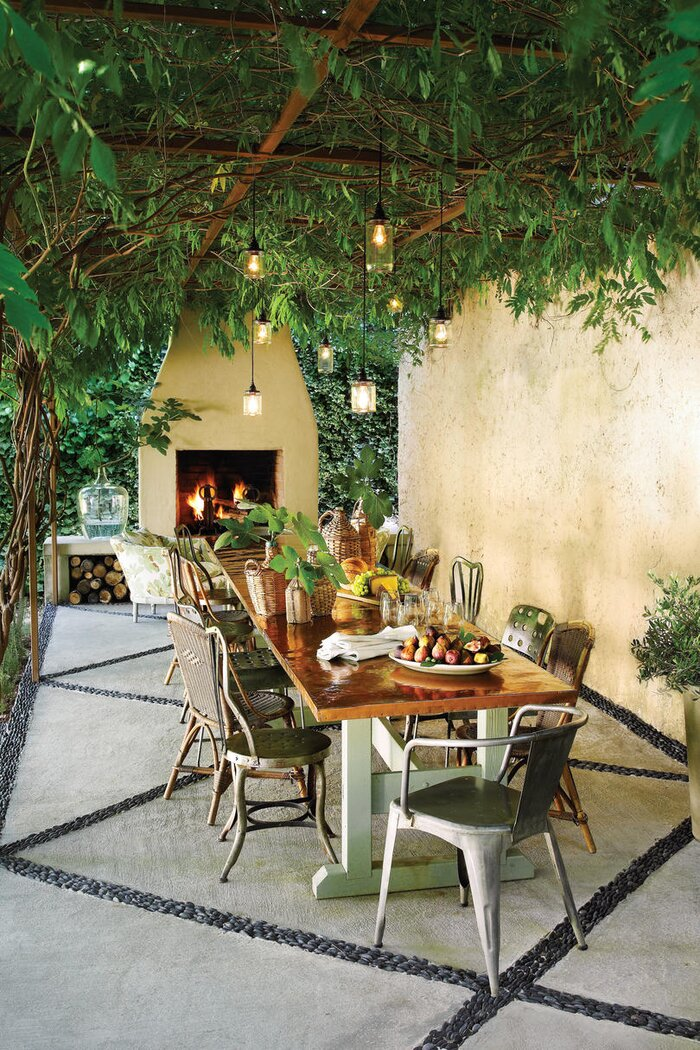Before and After Patio Makeover - Southern Living
