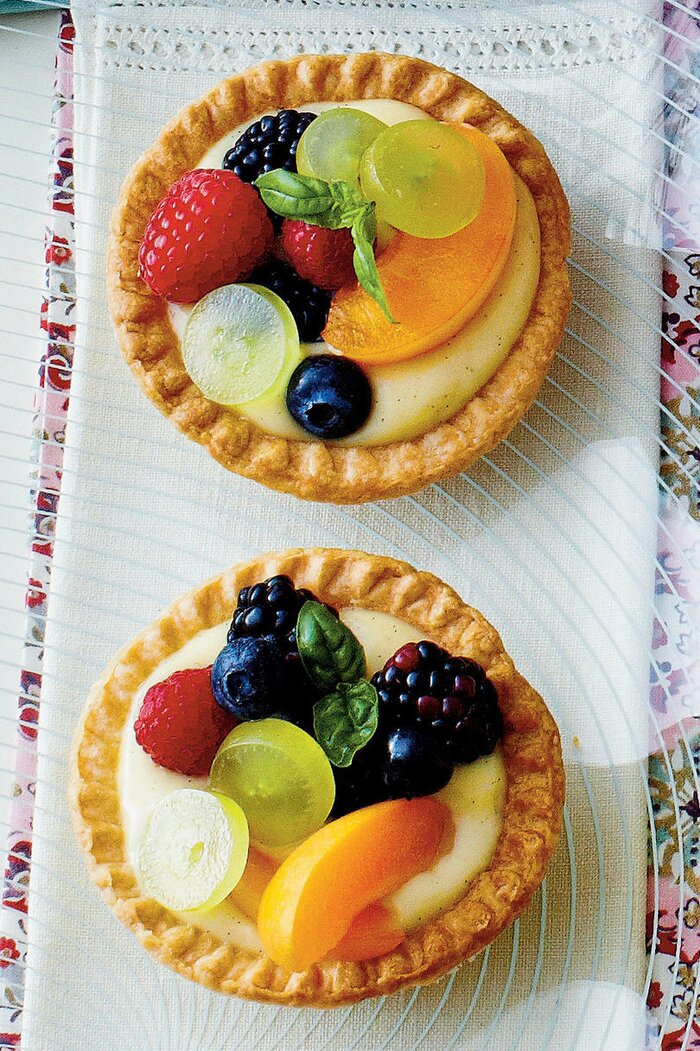 Vanilla Buttermilk Tarts Recipe