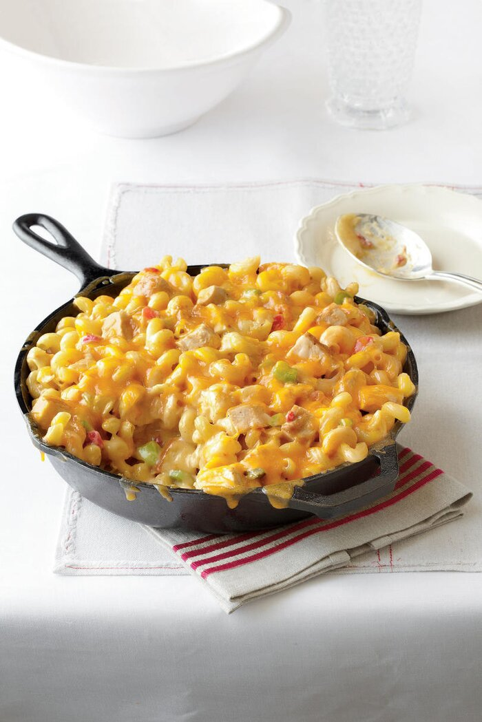 Easy one dish dinner recipes southern living king ranch chicken mac and cheese forumfinder Gallery