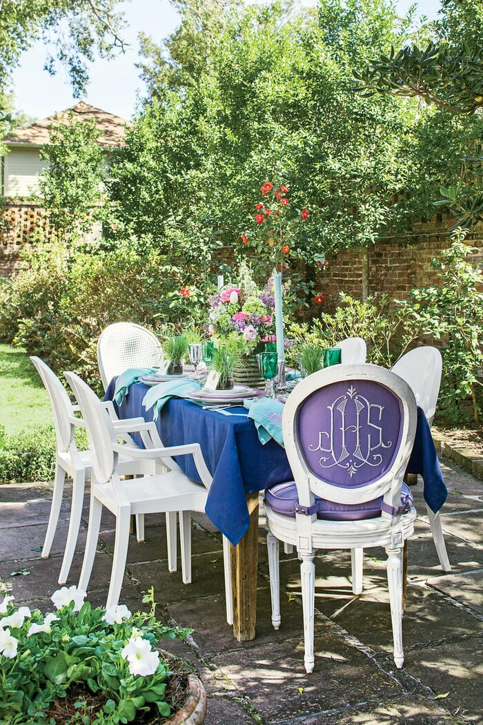 Spring Garden Party Table Setting - Southern Living