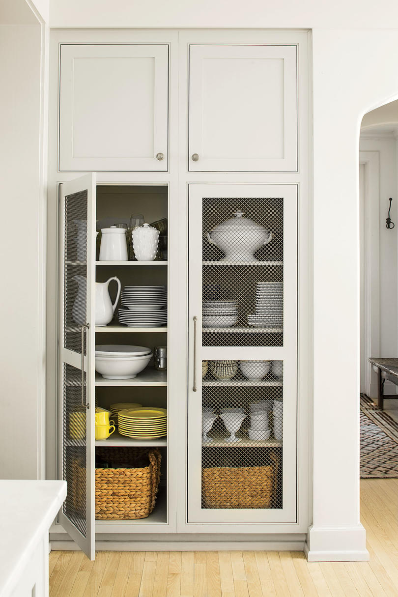 Kitchen Ideas Cabinets.Creative Kitchen Cabinet Ideas Southern Living