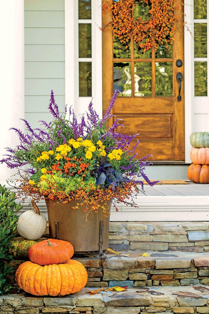 Gorgeous fall flowers southern living all fired up mightylinksfo