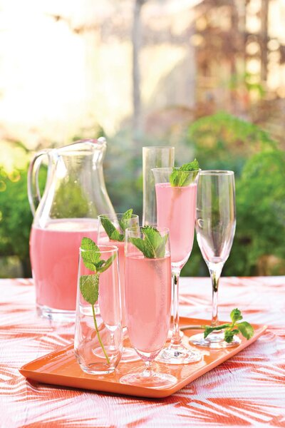 wedding shower recipe ideas sparkling punch