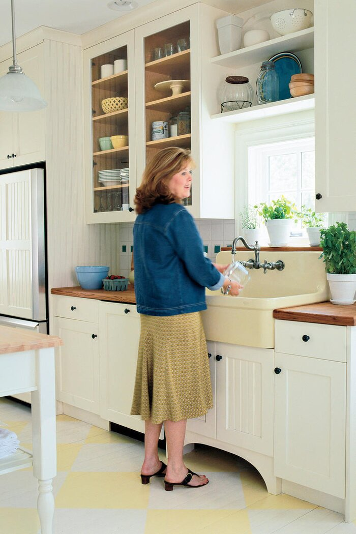 Farm Kitchen Remodeling Ideas - Southern Living