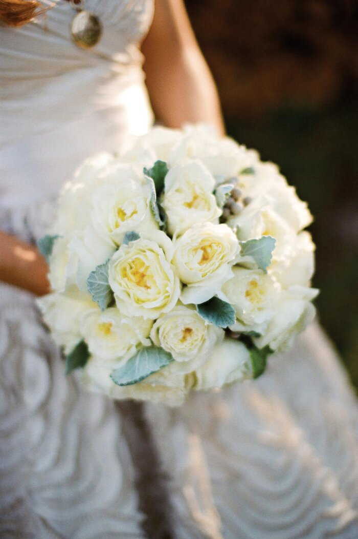 White Wedding Bouquets - Southern Living