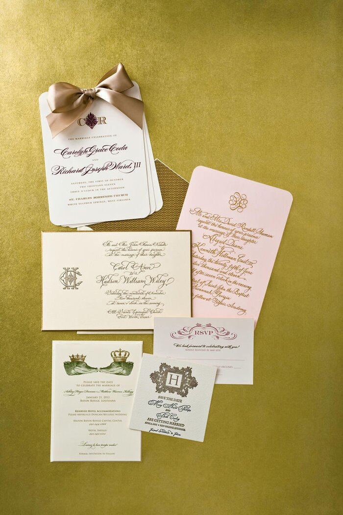 Unique Wedding Invitations - Southern Living