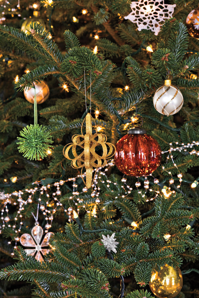 christmas decorating ideas tree ornaments