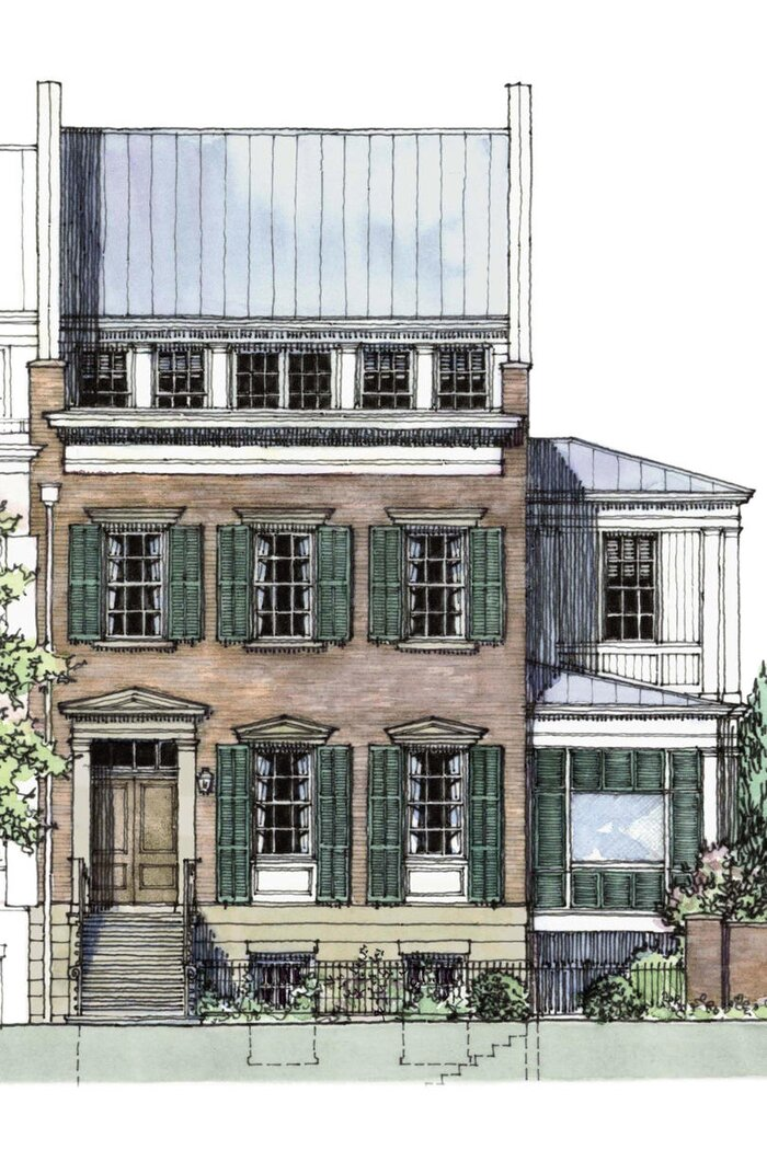 Abercorn Place Idea House Design Plans - Southern Living