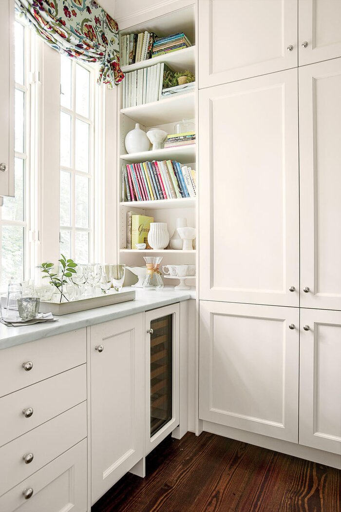 white kitchen cabinets. Timeless Shaker Style Cabinets Crisp  Classic White Kitchen Southern Living