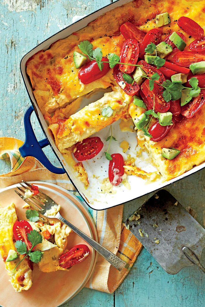 Best breakfast casserole recipes southern living breakfast enchiladas forumfinder Images