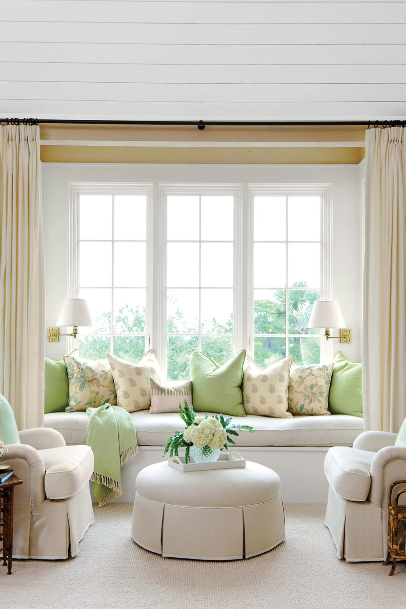window chair furniture. Coastal Bedroom Built-In Seating Window Chair Furniture