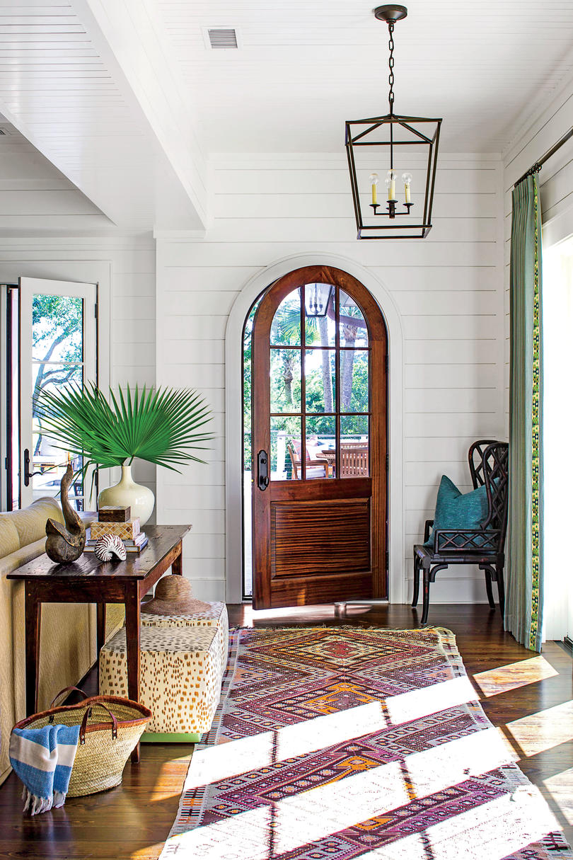 fabulous foyer decorating ideas - southern living Foyer Decorating Ideas