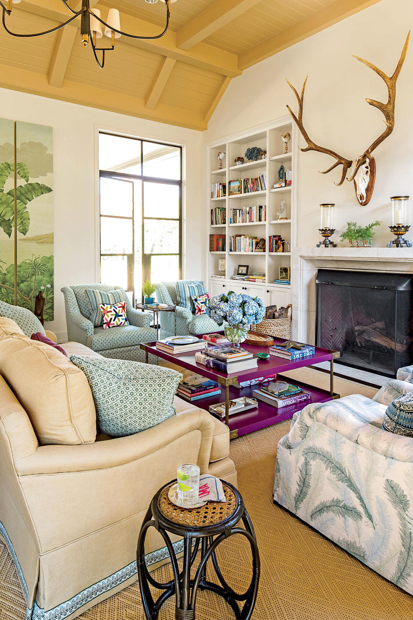 Living Room In Guest Party House