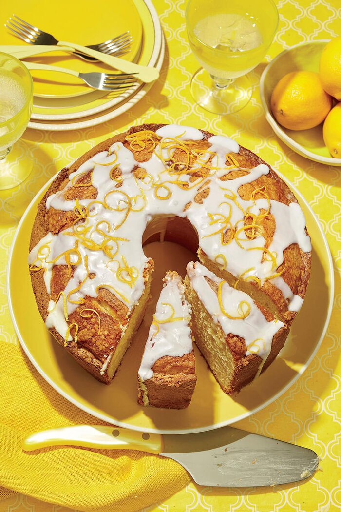 Summer Pound Cake Recipes - Sour Cream, Lemon & More - Southern Living