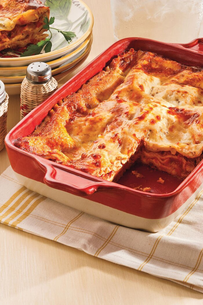 Our best recipes for an unforgettable christmas eve dinner classic lasagna forumfinder Image collections