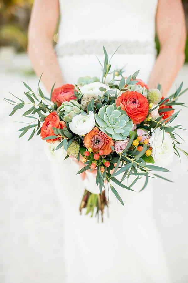 Ranunculus Wedding Bouquets Lively