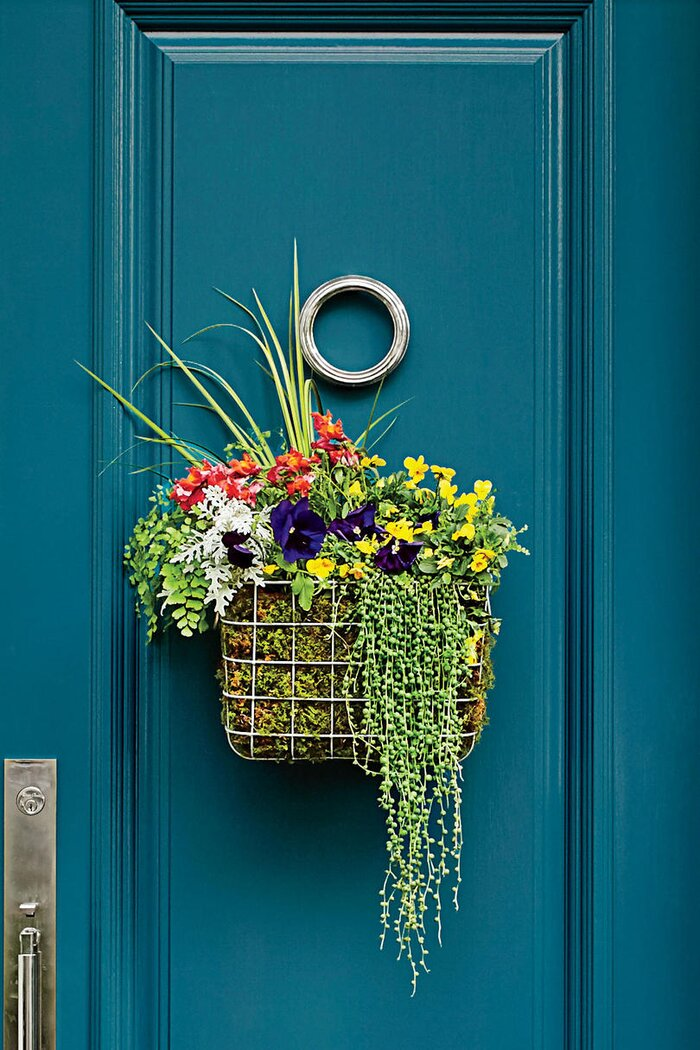 How to Make a Basket Wreath - Southern Living