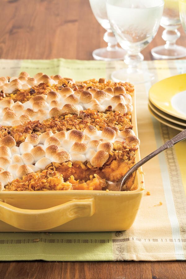 Crowd pleasing casseroles perfect for church potlucks southern living classic sweet potato casserole forumfinder Gallery