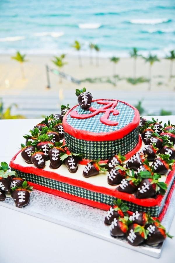 Over The Top Grooms Cakes For True Sec Fans Southern Living