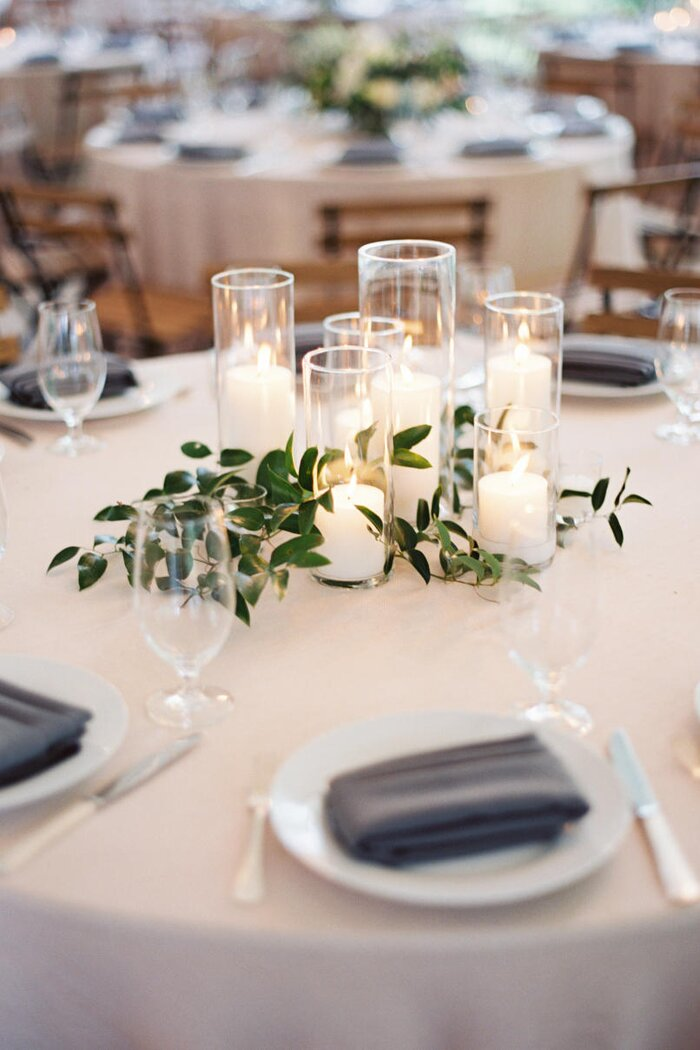 Wedding decoration using candles image collections