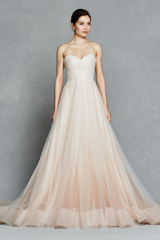Blush Ombre Ball Gown